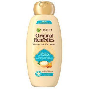 Garnier Shampooing Elixir de Argán Original Remedies 600ml - Cheveux très secs et ternes - 600 ml