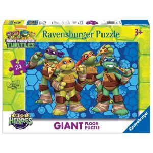 Ravensburger Puzzle géant de sol Tortues Ninja 24 pièces