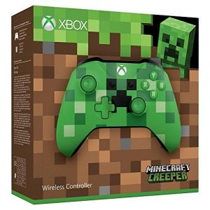 Microsoft Manette sans fil Xbox Minecraft Creeper