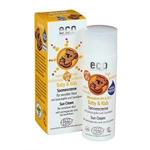 Eco Cosmetics Crème solaire bébé SPF45