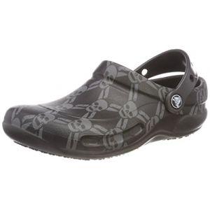Crocs Bistro Graphic Clog, Sabots Mixte Adulte, Noir (Black/smoke) 38/39 EU