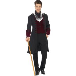 Déguisement vampire homme Halloween (taille M)