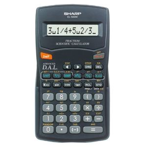 Sharp EL-500W - Calculatrice scientifique