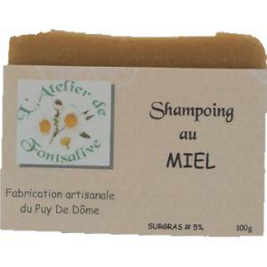 L'Atelier de Fontsalive Savon Shampoing - Miel - 100 g
