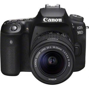 Canon EOS 90D + objectif EF-S 18-55 mm f/3.5-5.6 IS STM