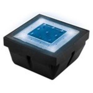 Lumihome Pavé Encastrable LED Solaire Bleu/Blanc