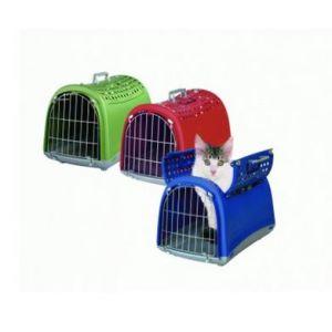Imac Cage de transport Linus Cabrio l32xP50xH34,5cm pour petit chien et chat