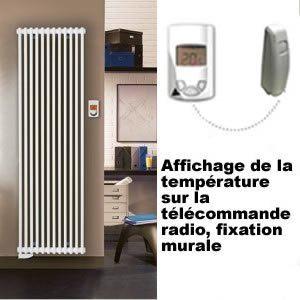 Lvi Epok vertical 1500 Watts - Radiateur électrique H1845mm
