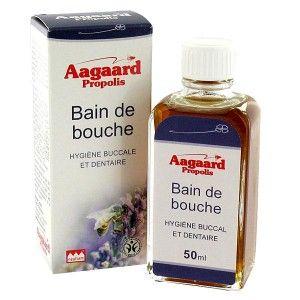 Aagaard Bain de bouche hygiène buccale et dentaire (50 ml)