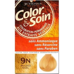 3 Chênes Color & Soin 9N blond miel - Coloration permanente