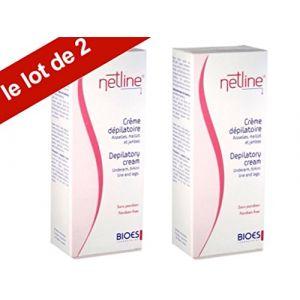 Laboratoires Bioes Netline - Crème dépilatoire aisselles, maillot et jambes