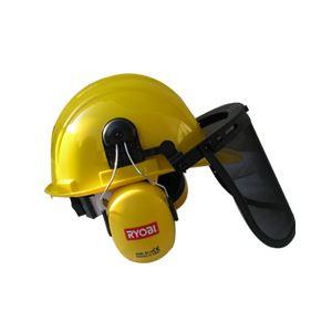 Ryobi 5132000032 - Casque de protection complet (visière et protection auditive)