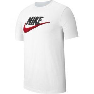 Nike T-shirt Tee Brand Mark blanc - Taille EU M,EU L