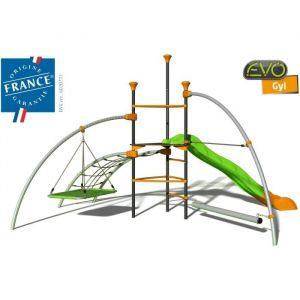 Evo TRIGANO Structure de jeux Gyl - Tour centrale - 4 agres