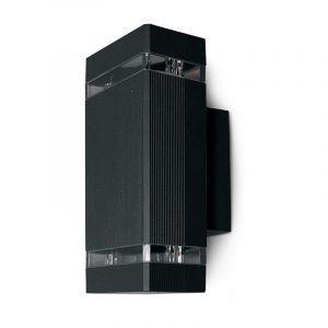 Vision-El Applique murale IP54 Gris anthracite double éclairage (max 2xGU10 7W led)
