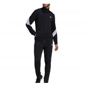 Adidas Survêtement Cotton TS Noir - Taille XL