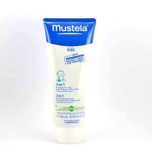 Mustela 2 en 1 gel nettoyant - 200 ml