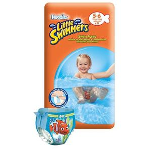 Huggies Little Swimmers taille 5/6 (12-18 kg) - 11 couches de bain