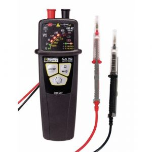 Chauvin Arnoux Testeur de tension VAT/DDT - pointes de touche IP2X - CA 762