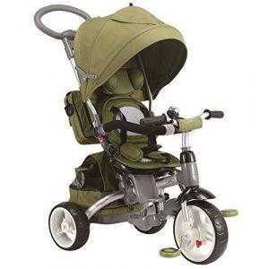 Baby's Clan Tricycle/Poussette évolutif 6 en 1 Vert Olive
