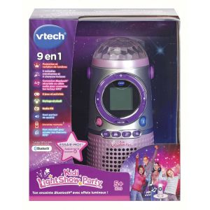 Vtech Kidi Lightshow Party - Enceinte Bluetooth