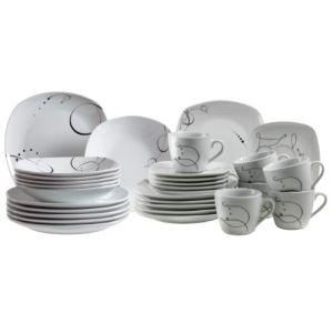 Domestic Service de table Chanson 30 pièces en porcelaine
