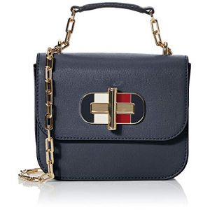 Tommy Hilfiger Sac à main TURNLOCK MINI CROSSOVER Bleu - Taille Unique