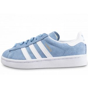 Image de Adidas Campus C, Chaussures de Fitness Mixte Enfant, Bleu (Azucen/Ftwbla/Ftwbla 000), 28 EU