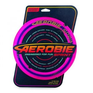 Spin Master Disque Flexible - Aerobie Sprint Ring - Jaune