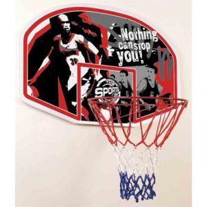 Hudora 71621 - Jeu de Plein Air et Sport - Panier Basket In/Outdoor - 45,7 cm de Diamètre