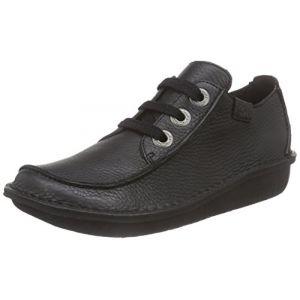 Clarks Funny Dream, Chaussures de ville femme - Noir (Black), 36 EU (3.5 UK)