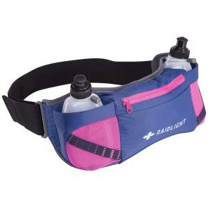 Raidlight Porte bidons Activ Dual 300 - Dark Blue / Pink - Taille One Size