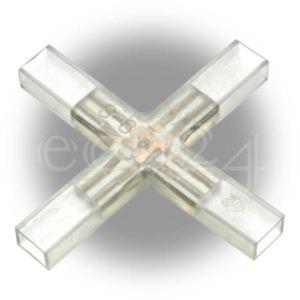 Gev Connecteur en X Mini Flex Led pour guirlande lumineuse
