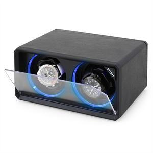 Klarstein 8LED2S - Remontoir pour 2 montres automatiques