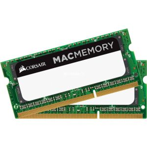 Corsair CMSA16GX3M2C1866C11 - Barrette mémoire Mac SO-DIMM 16 Go (2 x 8 Go) DDR3 1866 MHz CL11