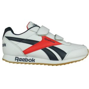 Reebok Chaussures sport à double scratch. Blanc - Taille 29