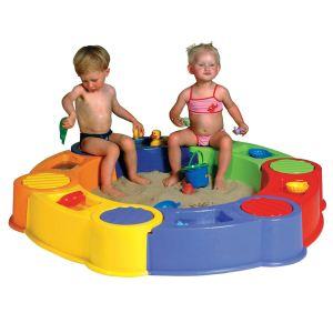 Paradiso Toys Bac à sable Colombus avec circuit d'eau