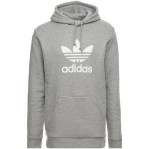 Adidas Trefoil Hoodie Sweat-Shirt de Sport à Capuche Homme, Gris Medium Grey Heather, X-Large