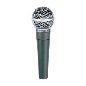 Shure SM58SE - Micro filaire de chant