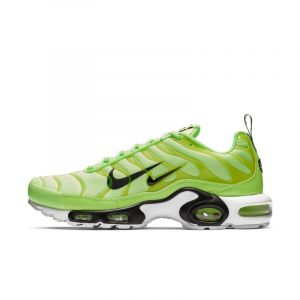 Nike Chaussure Air Max Plus Premium Homme - Vert - Taille 42