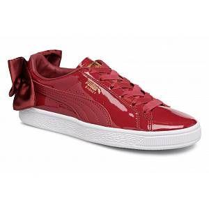 Puma Basket Bow Patent Wn's Tibetan Red 36811804, Basket - 40 EU