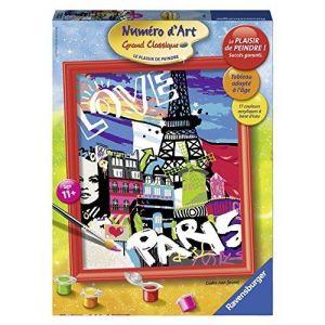 Ravensburger 28435 - Numéro d'art grand format : Love From Paris