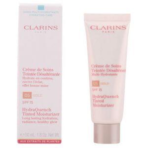 Clarins 05 Gold - Crème de soins teintée désaltérante multi-hydratante SPF 15