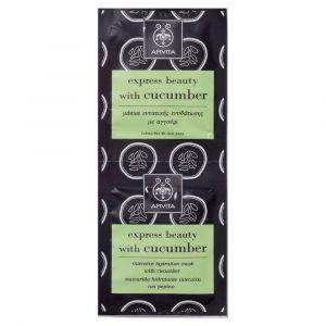 Apivita Express - Masque d'hydratation intensive au concombre