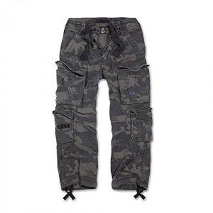 Brandit Pure Vintage Jeans/Pantalons Camouflage foncé S