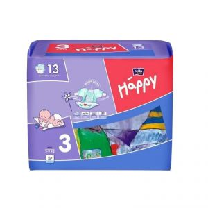 Bella Baby Happy Midi taille 3 (5-9 kg) - 13 couches