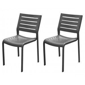 Proloisirs Belhara - Chaise de jardin en aluminium