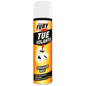 Fury Insecticide aérosol insectes volants 400ml - Insecte volant