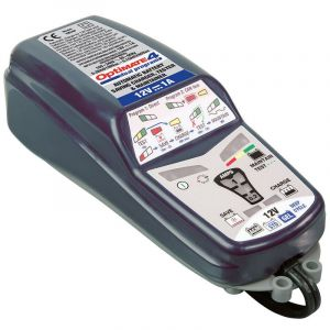 TecMate Chargeur de batterie 12V Optimate 4 TM340 Dual Program