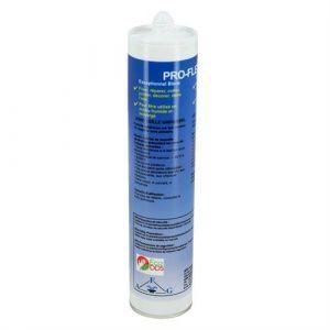Interplast Colle Spéciale Piscine Pro-Flex Blanc 310 ml - Mastic Étanche Multifonction